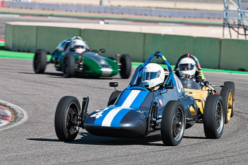 Racing my 1970 Zink C4 Formula Vee at Pikes Peak International Raceway in April 2019