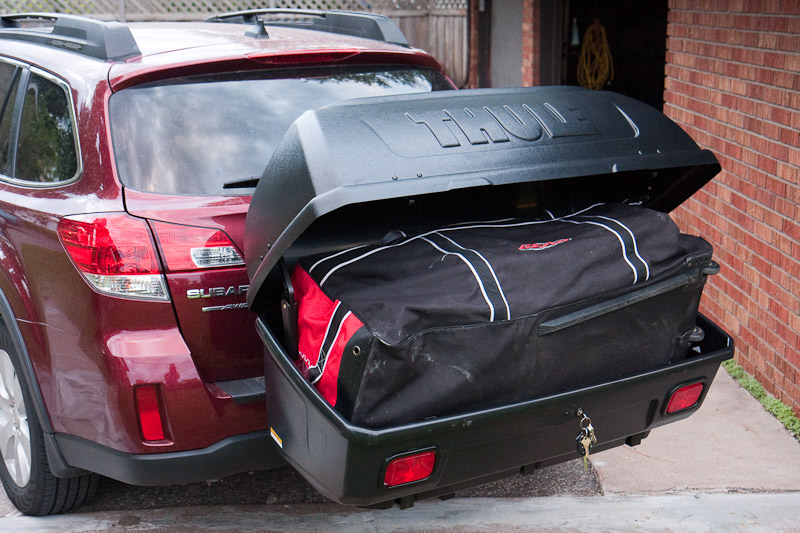 Thule Transporter 665c Hitch Mount Cargo Box Lots Of