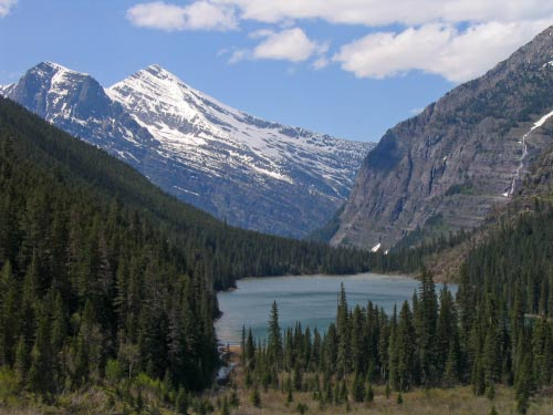 Avalanche Lake in Glacier National Park. In use as background: June 2009 - present.