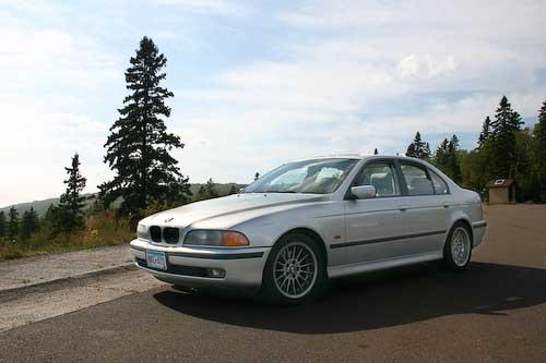 My 1999 BMW 540i