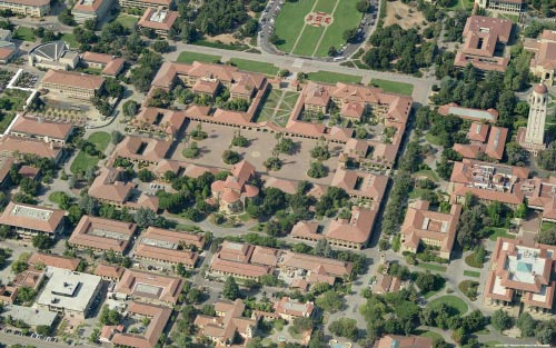 Stanford from the air.  My hopes, dreams, and identity.  In use March 2007 - June 2009.